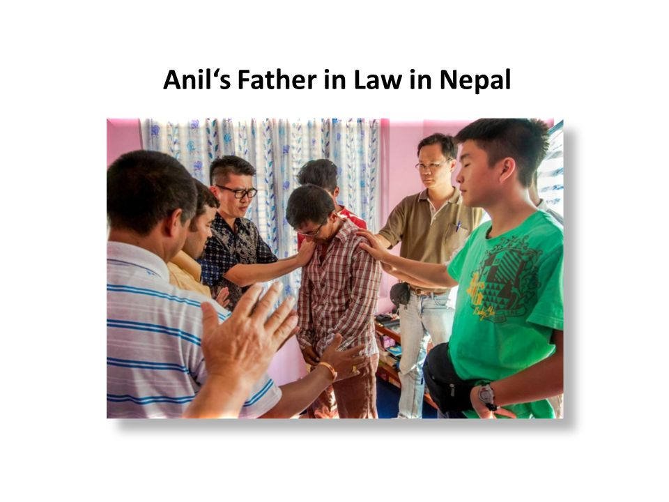 Anil's Father in Law in Nepal