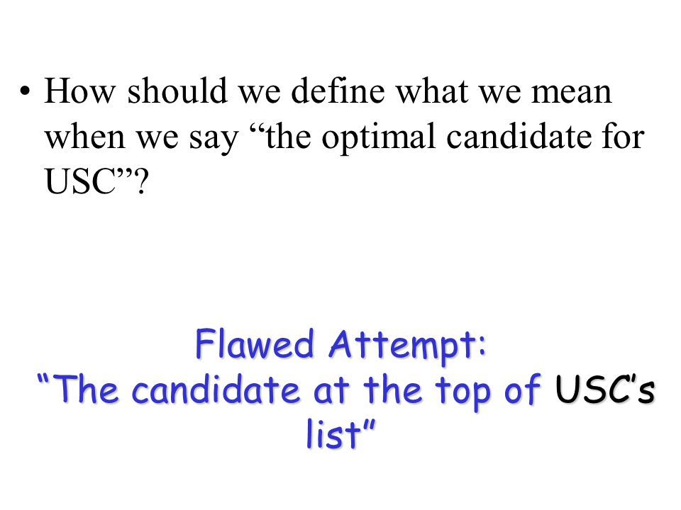 Opinion Poll Who is better off in Gale-Shapley Algorithm, the univeristies or the candidates