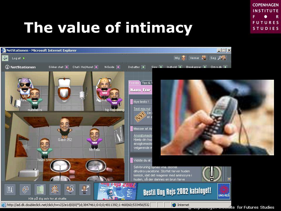 © Copenhagen Institute for Futures Studies The value of intimacy
