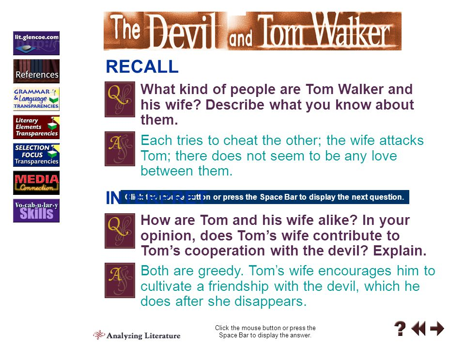 Personal Response 1 PERSONAL RESPONSE How did you react to Tom and his wife Share your responses.