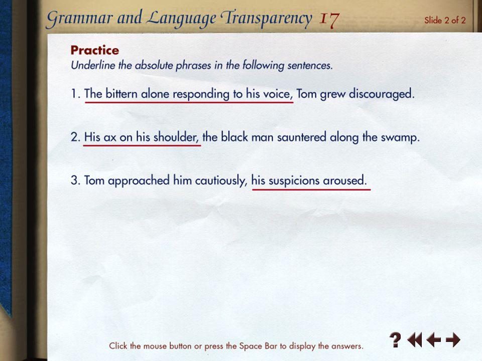 Grammar and Language Transparency 1-3
