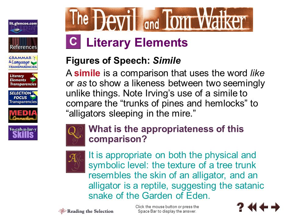 Literary Elements Reading 1-M M Theme: Universal Truths What does Irving's reference on page 210 to Tom as a ready-moneyed man contribute to the overall meaning of the story.