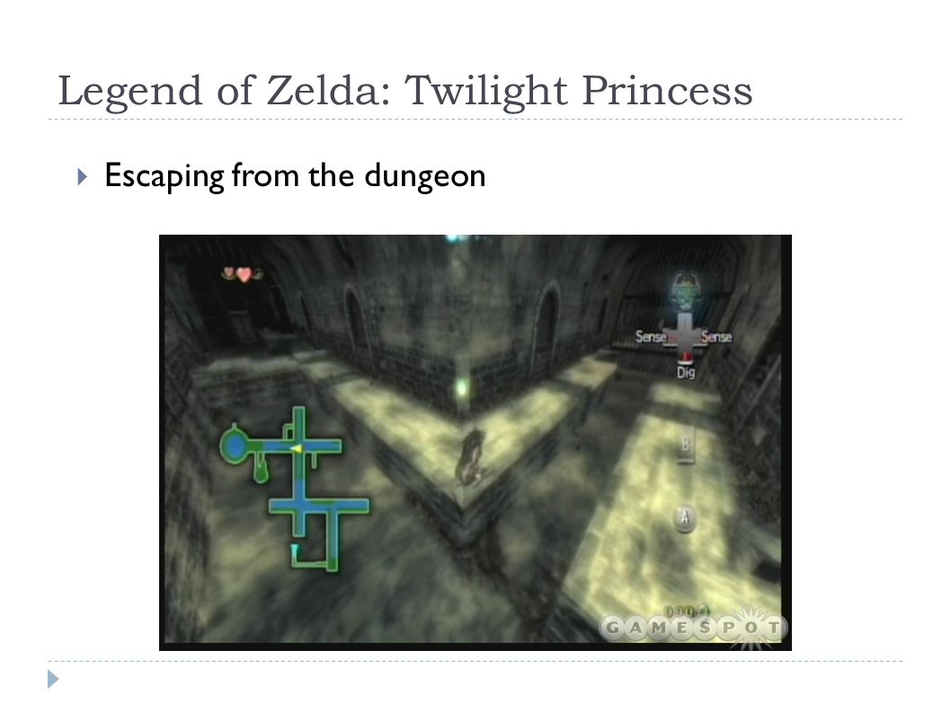 Legend of Zelda: Twilight Princess  Escaping from the dungeon