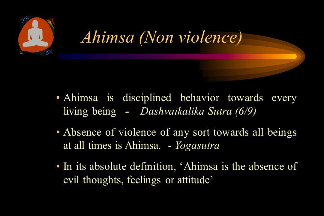 Unique Teachings of Jainism Universal love (Ahimsa) Anekantvad (Non absolutism) Aparigraha (Non-attachment)