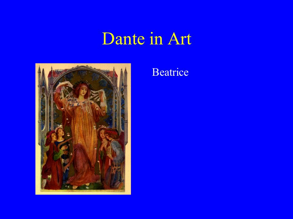 Dante in Art Beatrice