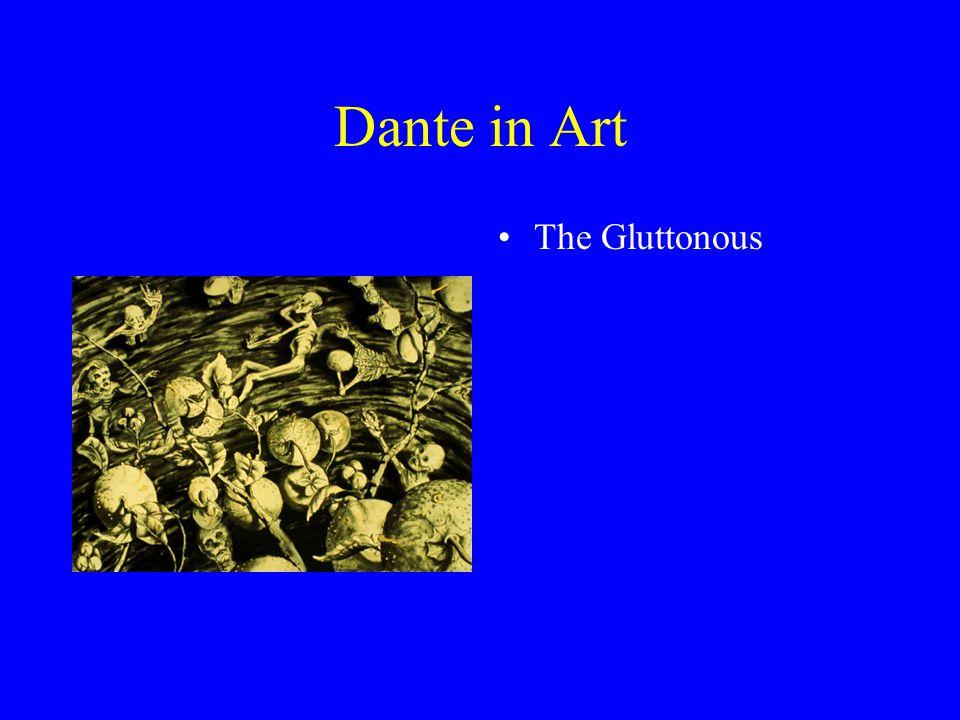 Dante in Art The Gluttonous