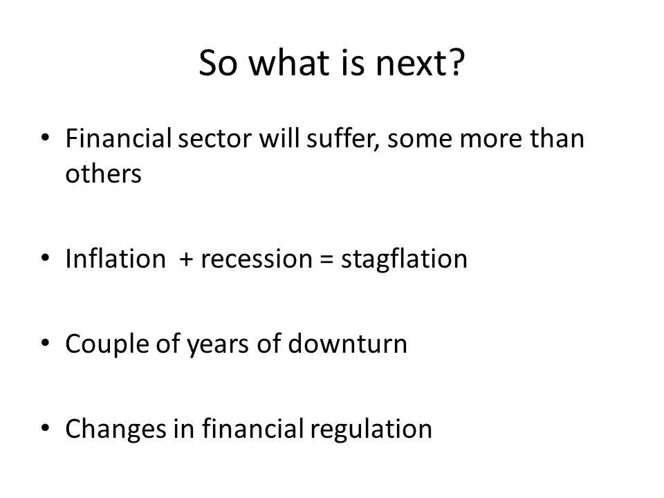 Worst case… Regulatory uncertainty not helping Mad politicians (e.g.