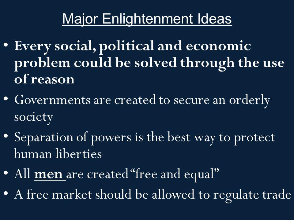 Enlightenment Thinkers John Locke Baron de Montesquieu Voltaire