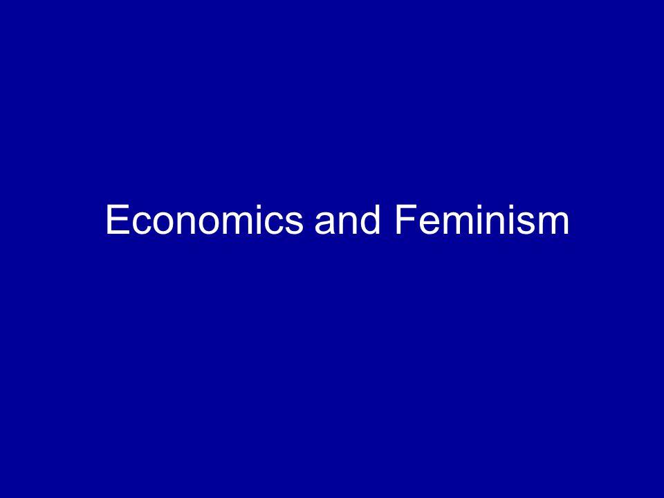 Economics and Feminism