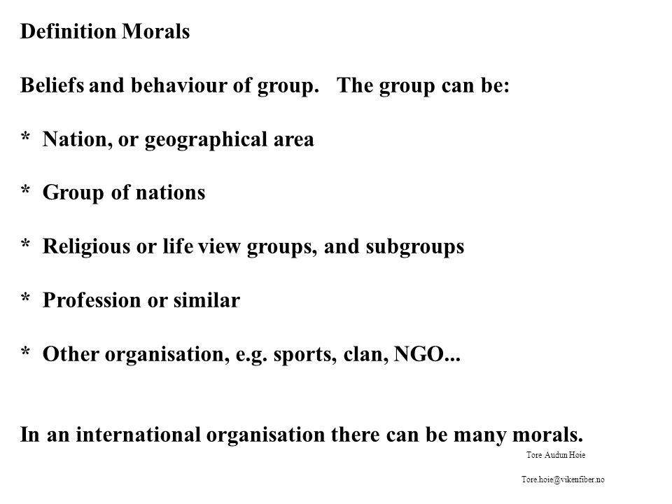 Forms of ethics 1.Metaethics (what is good. etc) 2.
