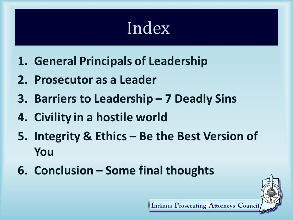 5. Integrity & Ethics He Has A Point!!!!! And we are all Guilty