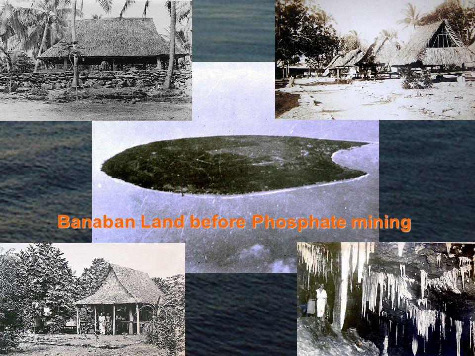 Banaban Land before Phosphate mining