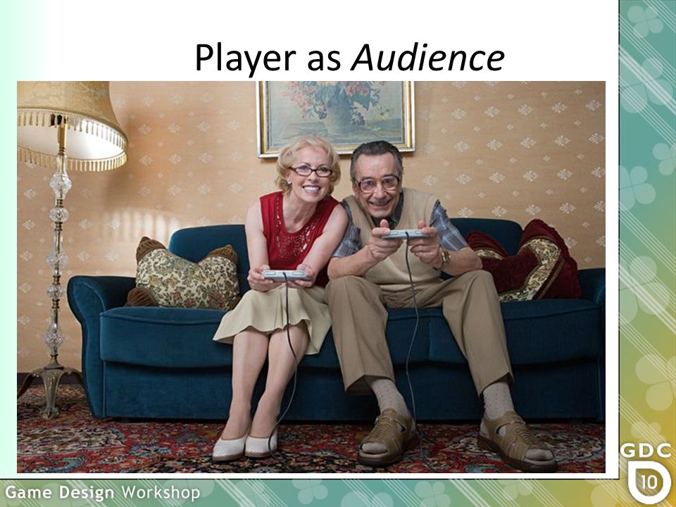 Player as Audience