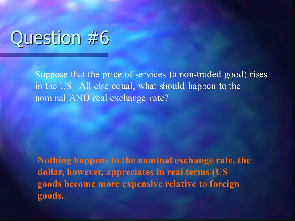 Question #7 What is a currency straddle and why is it useful.
