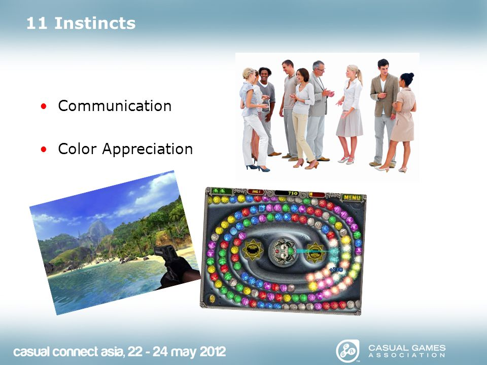 11 Instincts Communication Color Appreciation