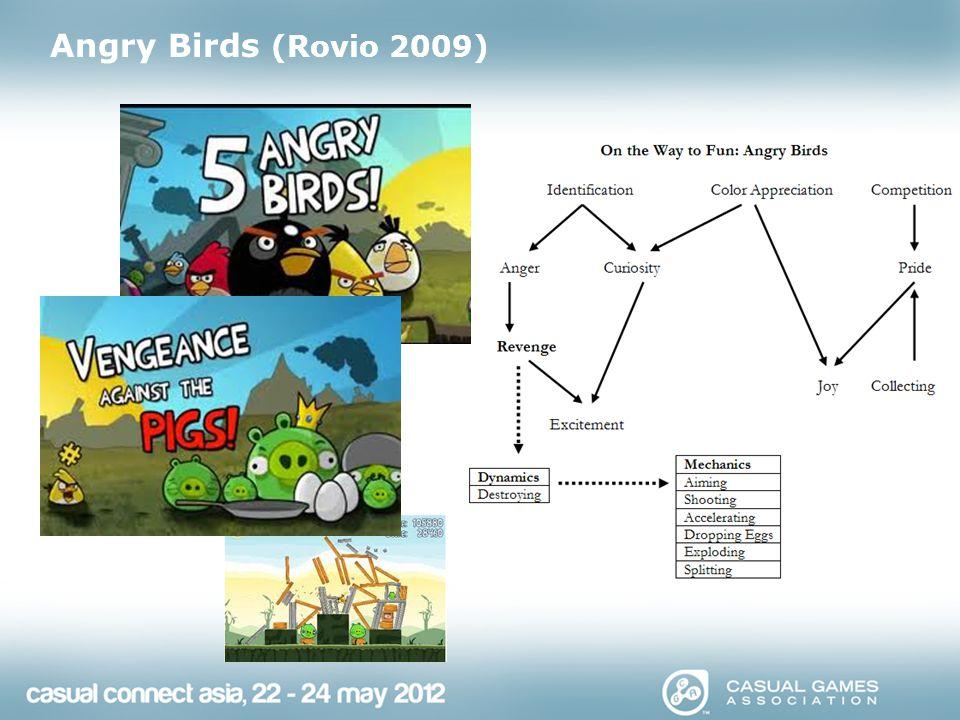 Angry Birds (Rovio 2009)