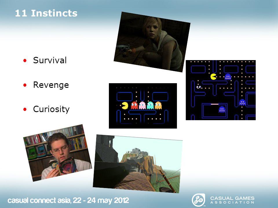 11 Instincts Survival Revenge Curiosity