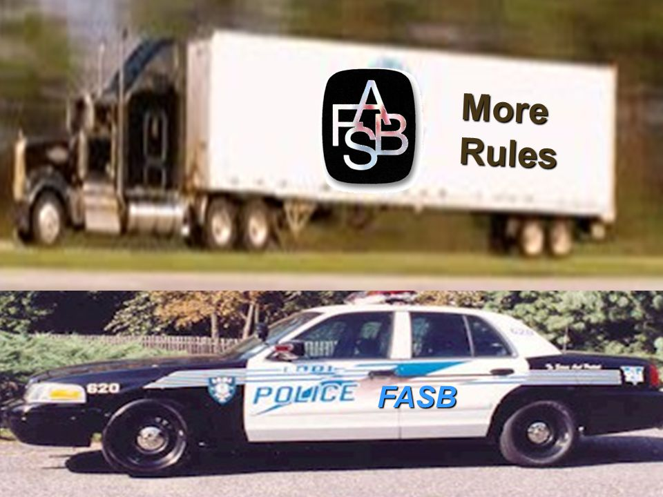 FASB More Rules