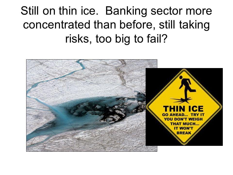 Still on thin ice.