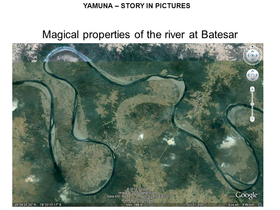 YAMUNA – STORY IN PICTURES Magical properties of the river at Batesar