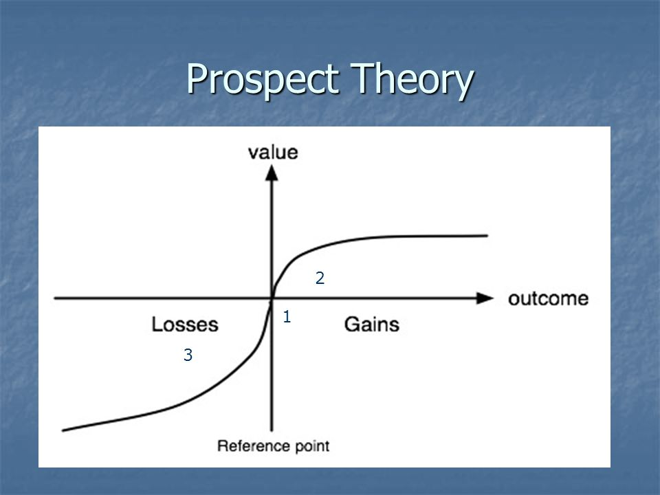 Prospect Theory 2 1 3