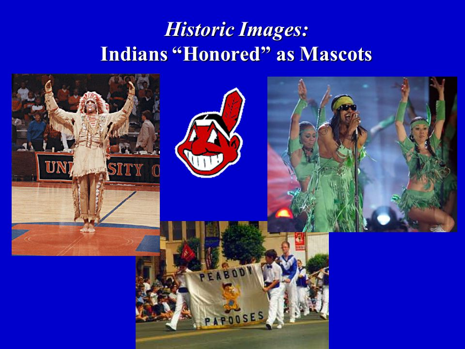Historic Images: Indians Honored as Mascots