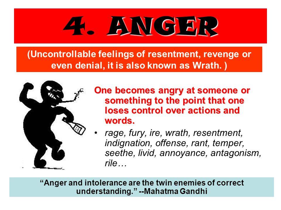 ANGER 4.