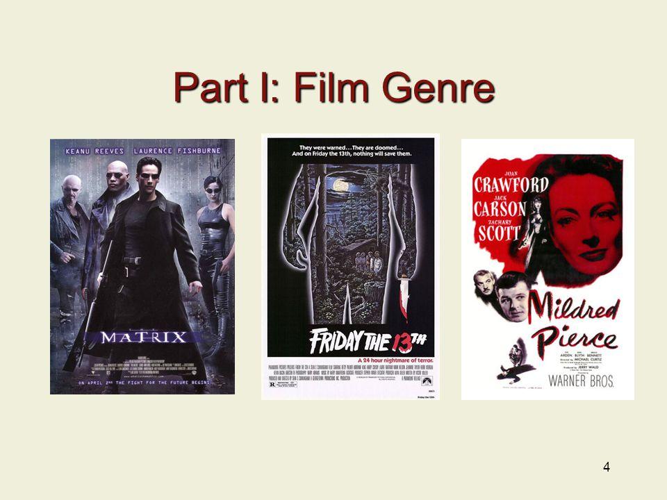 Part I: Film Genre 4