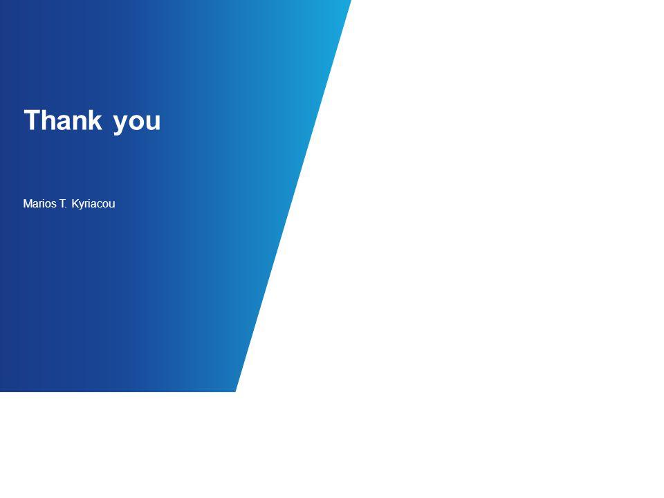 Thank you Marios T. Kyriacou