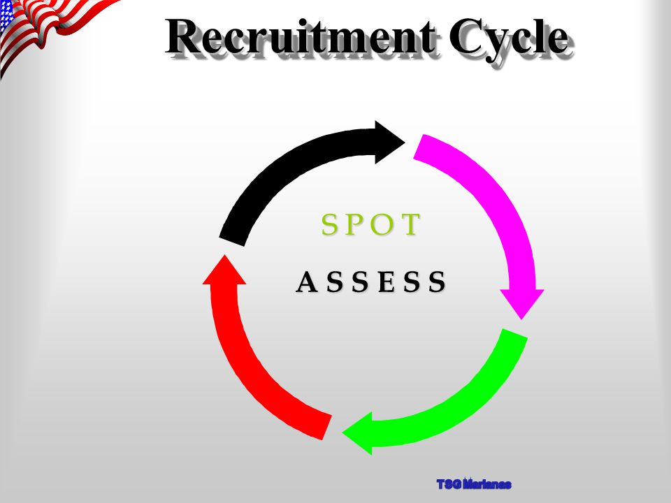 Recruitment Cycle A S S E S S S P O T
