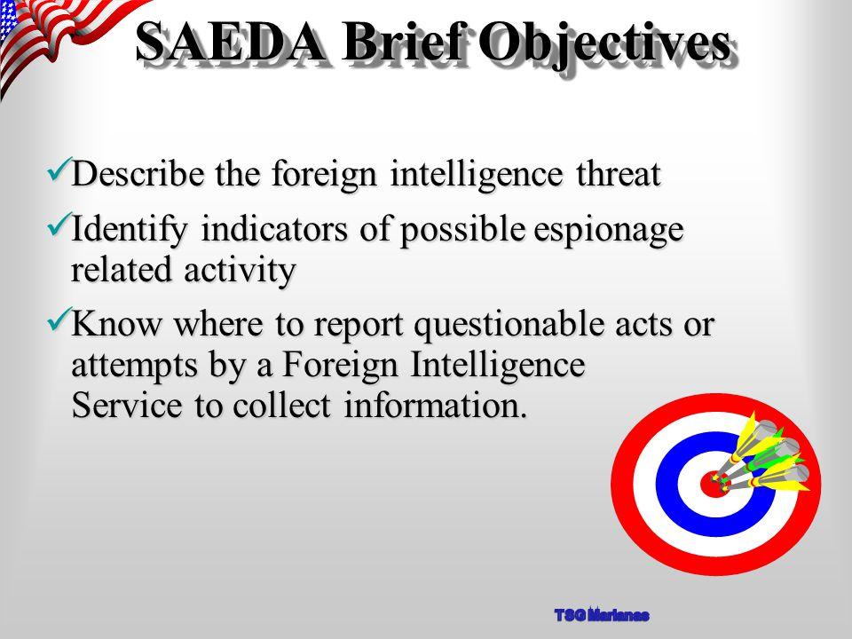 Espionage Recruitment Cycle A S S E S S S P O T R E C R U I T