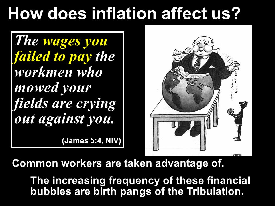 How does inflation affect us.