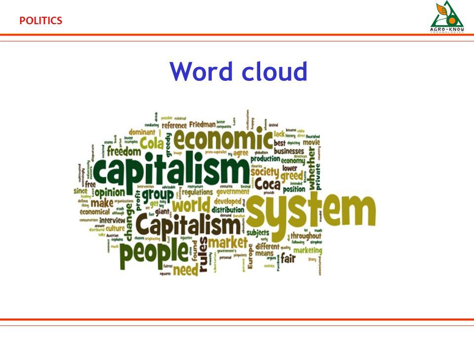POLITICS Word cloud
