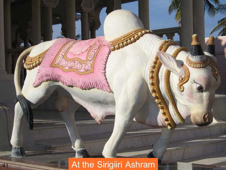 At the Sirigiiri Ashram 41
