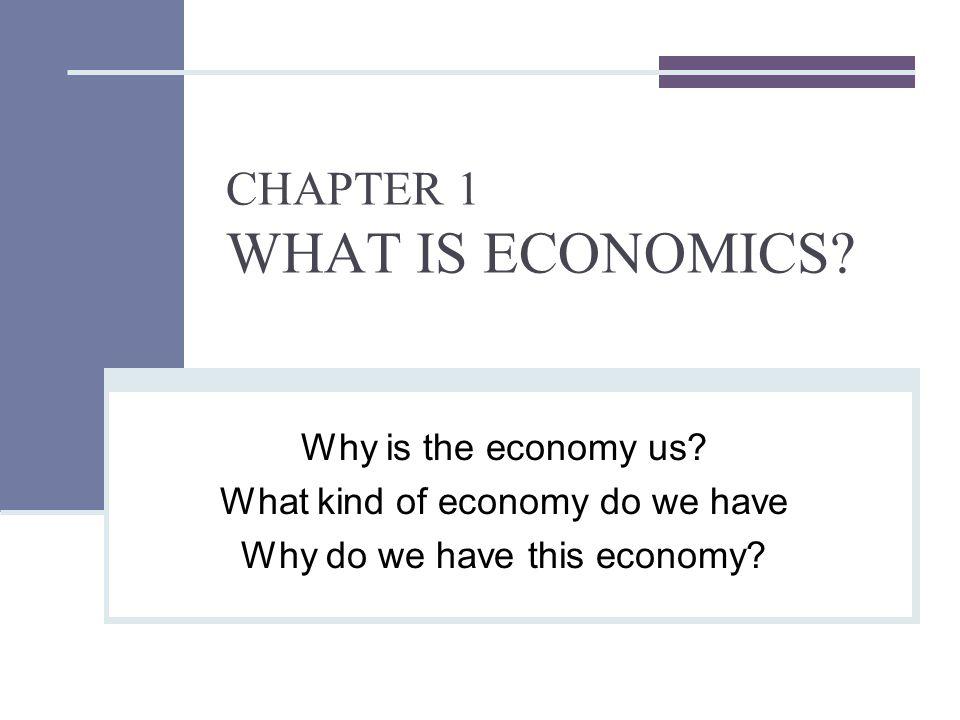 Definition of Economics?
