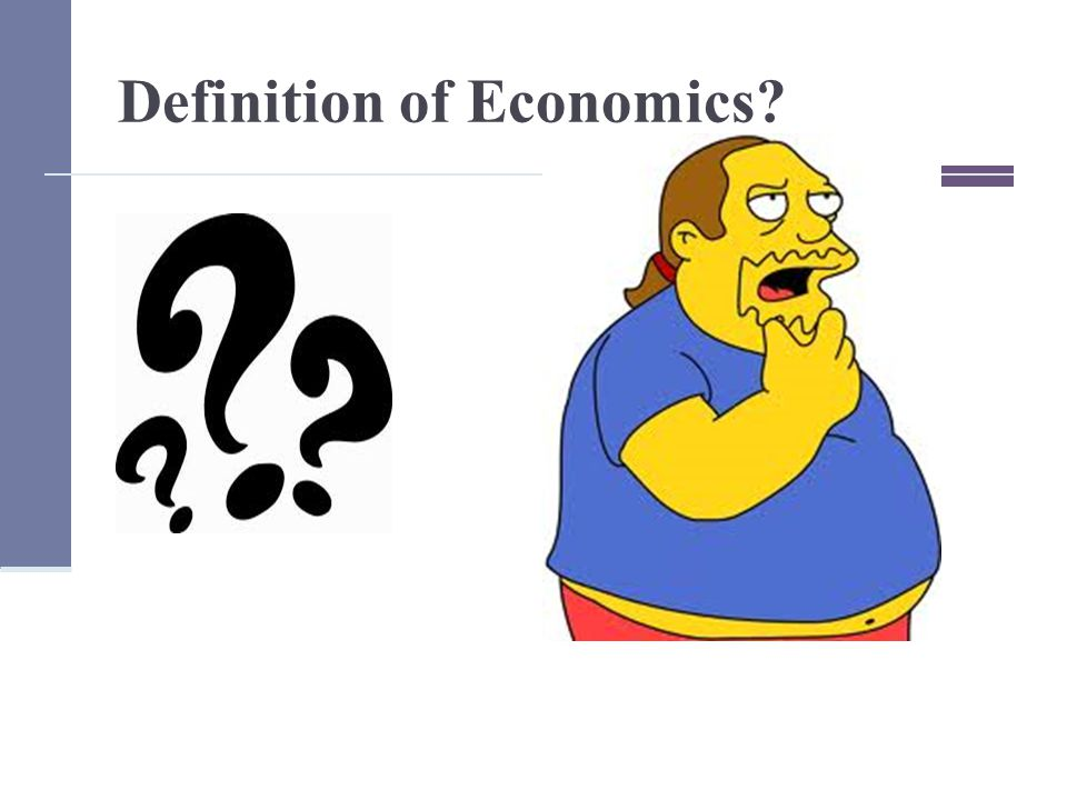 Definition of Economics The study of how people, both individually and in groups, deal with the problem of scarcity.