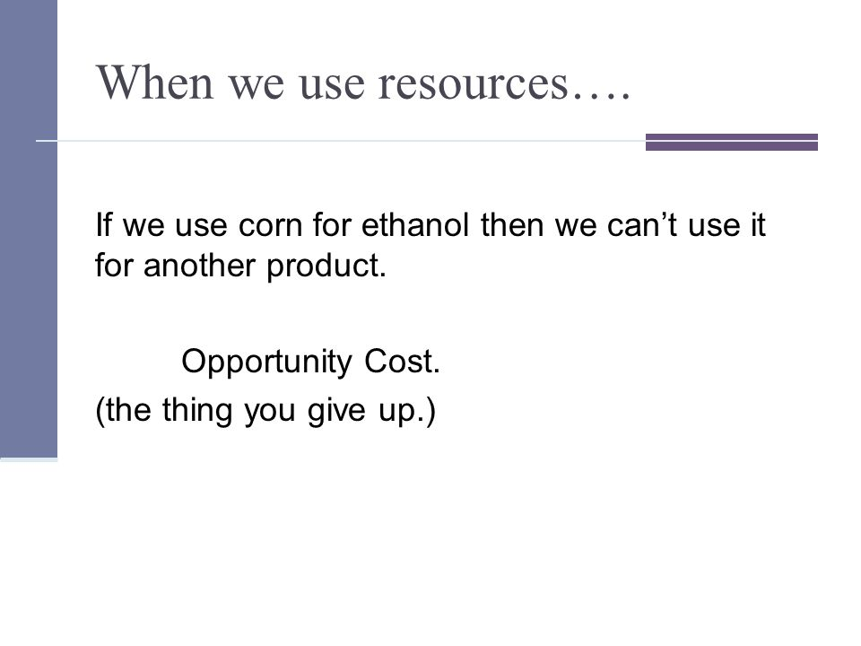 Challenge today.Need to get more out of world's limited resources.