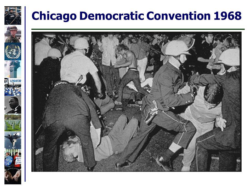 Chicago Democratic Convention 1968