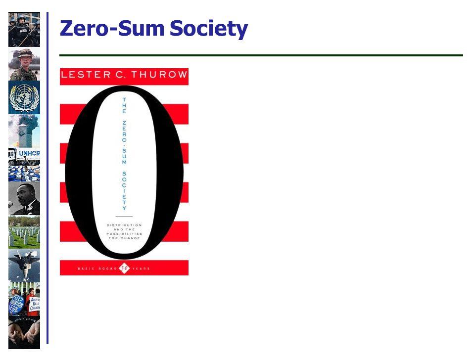 Zero-Sum Society