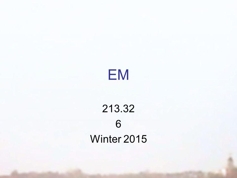 EM 213.32 6 Winter 2015