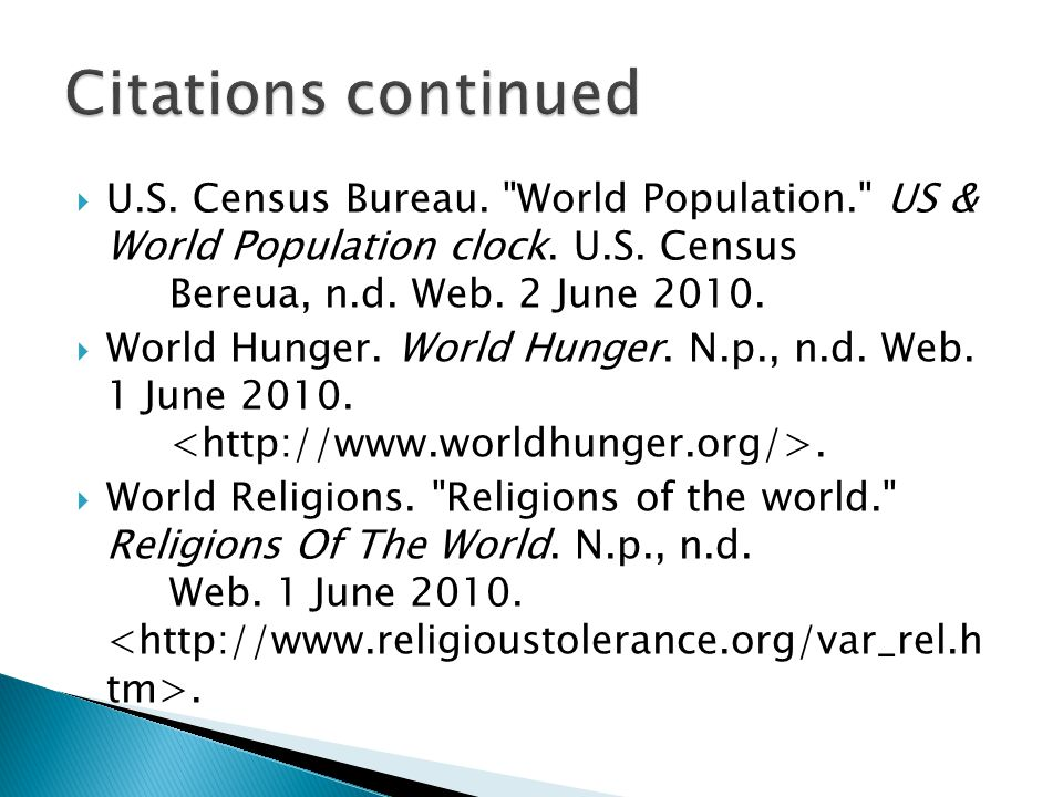  U.S. Census Bureau. World Population. US & World Population clock.
