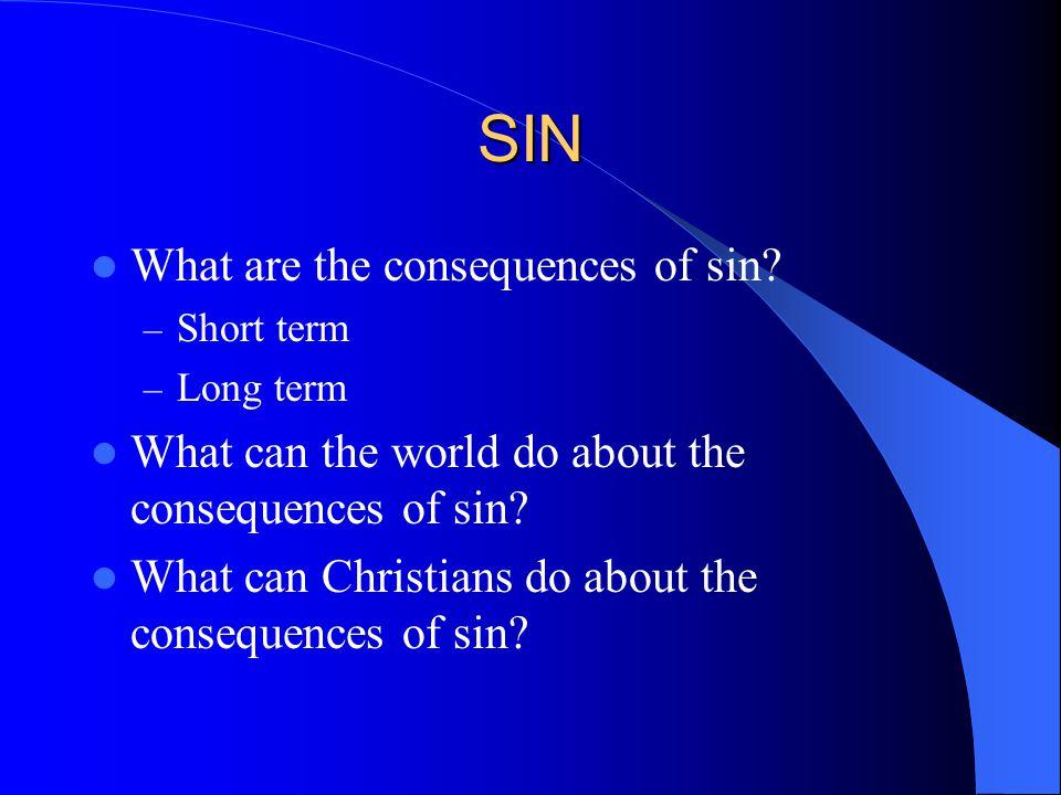 SIN Sin defined.