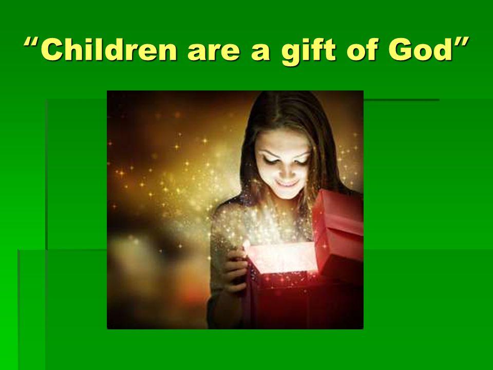 How do we teach our child stewardship.
