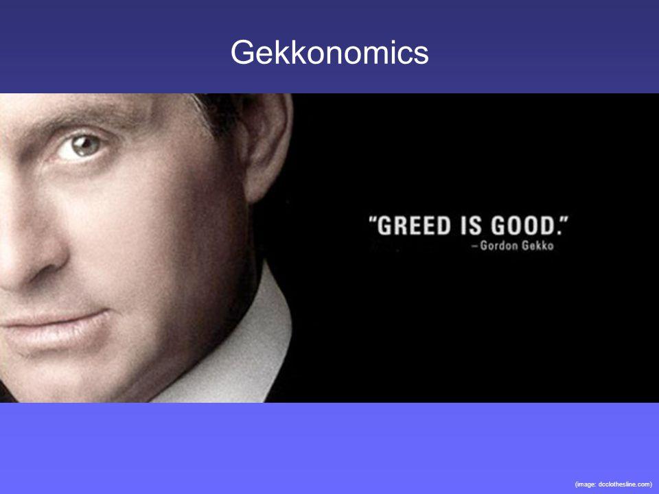 Gekkonomics (image: dcclothesline.com)