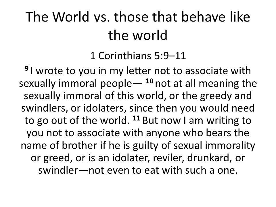 The World vs.