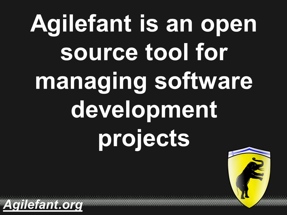 .orgAgilefant Agilefant is an open source tool for managing software development projects