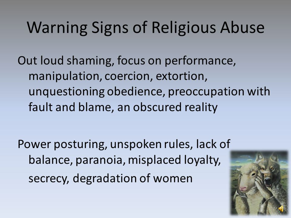 What is Religious Abuse.