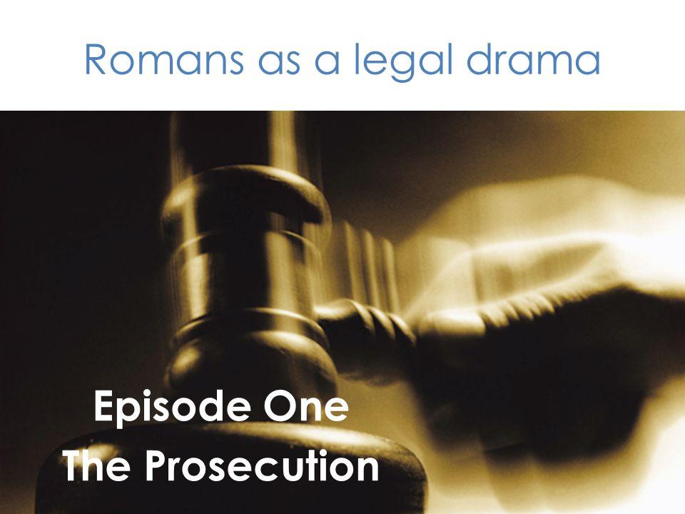 Episode One The Prosecution