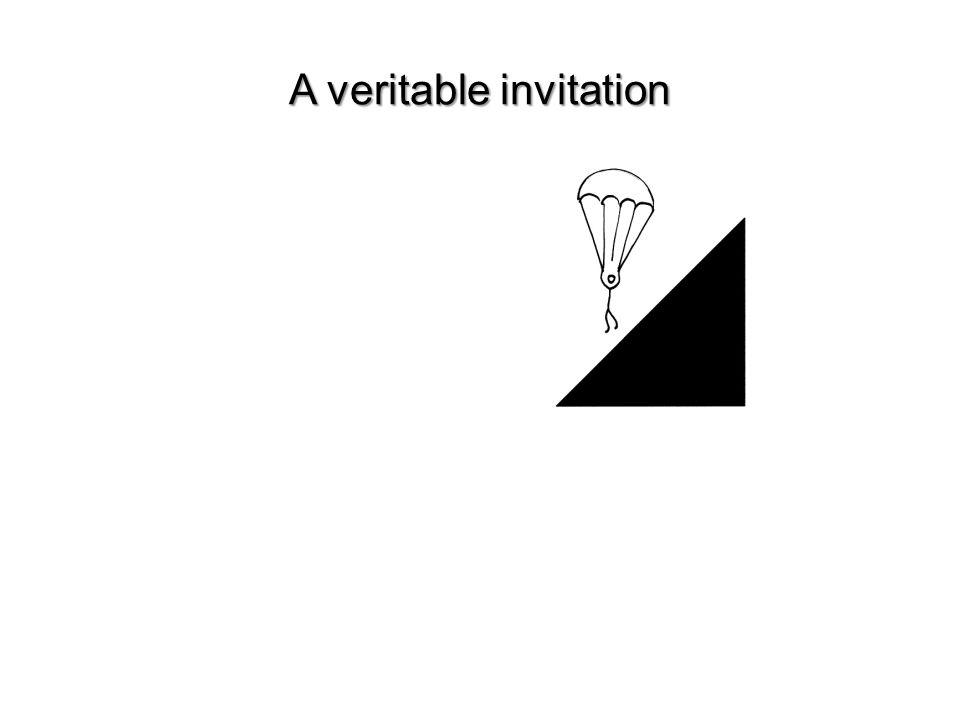 A veritable invitation