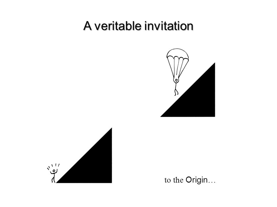 to the Origin…